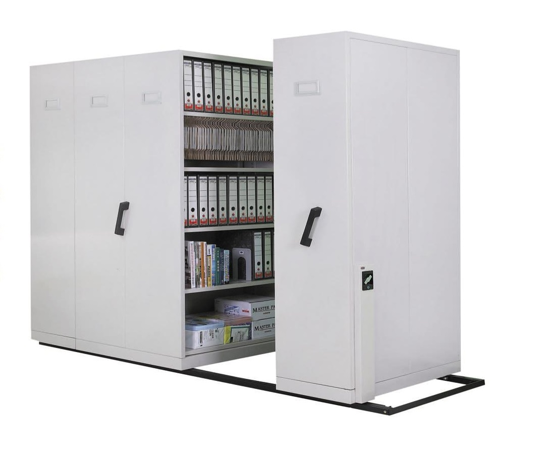 Hand push mobile compactor storage s end 6 23 2019 5 15 pm for Storage bay