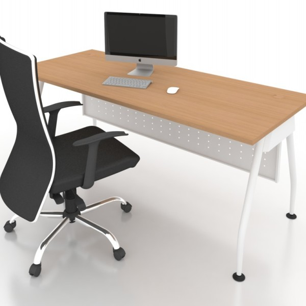 Office executive writing table ofmar 1575 office for Affordable furniture malaysia