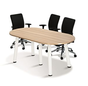 Office Oval Conference Meeting Table OFMO18 klang valley malaysia selangor kuala lumpur