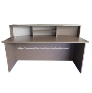 office reception counter table desk office furnitures malaysia klang