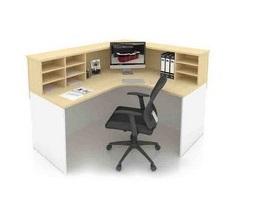Office Reception Front Desk Table Ofmfo18 Furnitures Malaysia Selangor Kuala Lumpur1