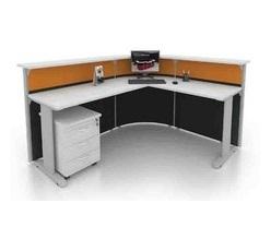 Office Reception Front Desk-Table OFMFO20 furnitures malaysia selangor kuala lumpur1