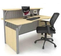 Office Reception Table Desk OFMFO16 furnitures malaysia selangor kuala lumpur1