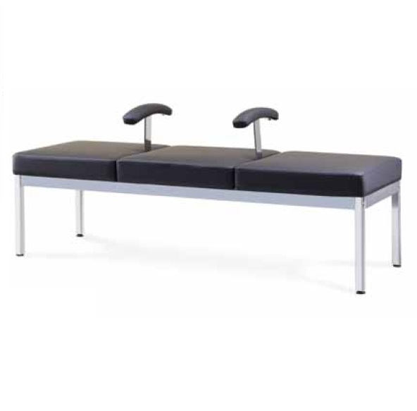 Visitor waiting bench sofa with arm end 2 10 2019 5 15 pm for Salon bench
