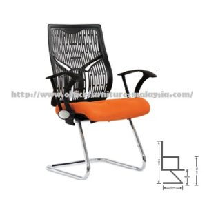 Office Modern LowBack Visitor Chair Seating ZD527D sofa hotel salon office clinic colleage selangor kuala lumpur shah alam