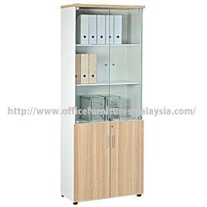 Office Full Height Filling Cabinet with Glass Doors Price Malaysia selangor kuala lumpur petaling jaya klang valley shah alam1