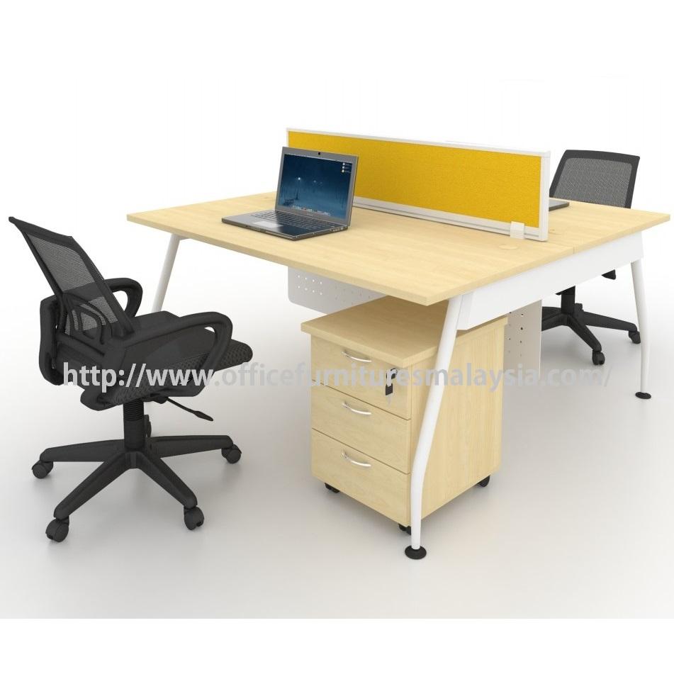 Modern Office Partition Team Workstation Table Set OFMQA1870 selangor kuala lumpur petaling jaya shah alam klang valley ampang1