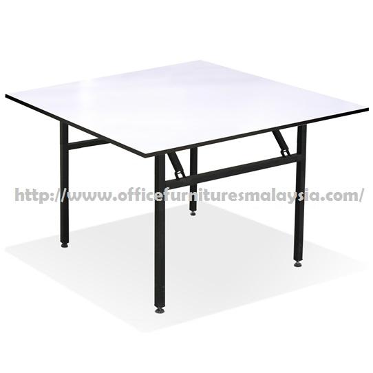 Square folding banquet table furniture selangor klang valley for Cheap modern furniture kuala lumpur