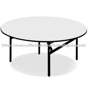 4ft round folding banquet table office furniture shah for Cheap modern furniture kuala lumpur