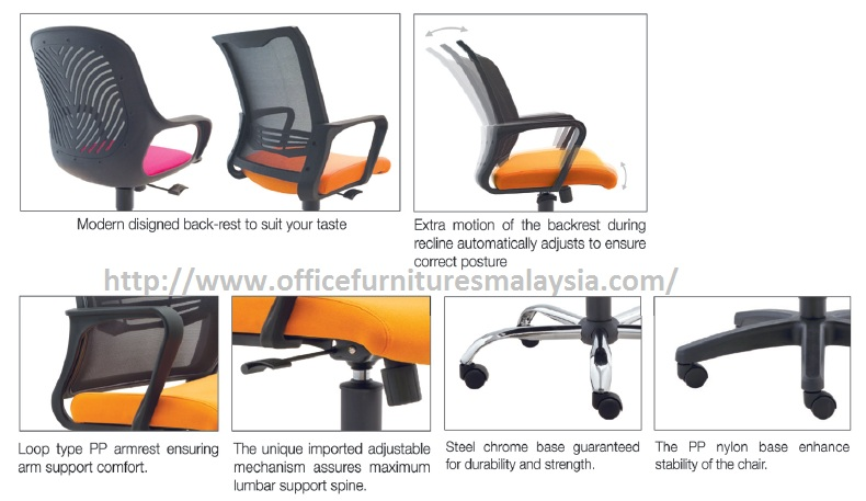 Simple Executive Office Chair OFM2721H furniture malaysia selangor klang valley1