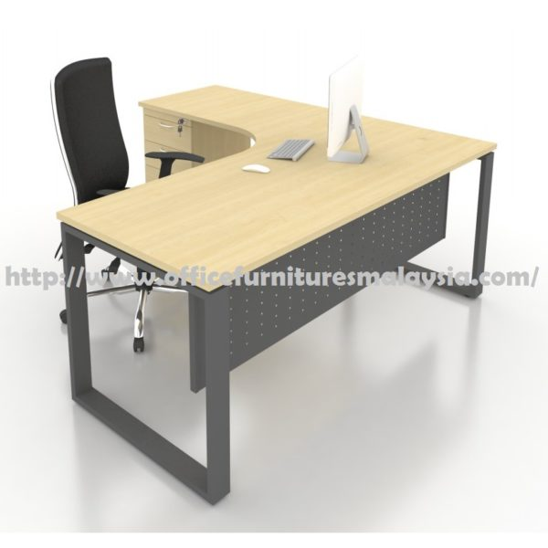 5ft x 4ft office l shaped table with drawer modern for 4ft sofa table