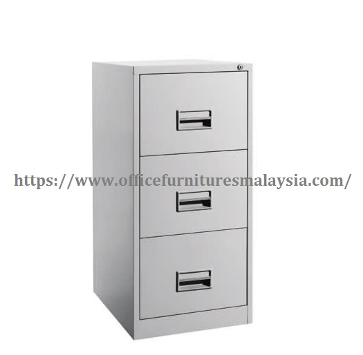 Filing Steel Cabinet With 3 Drawer Online Furniture Malaysia