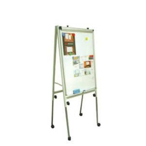 Flip Chart Board with roller adjustable Notice Bulletin Board white board notice board presentation price malaysia selangor office home school