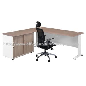 Office Table-Desk Model MR-TMC1818 (Left) furniture selangor kuala lumpur usj pj shah alam selayang balakong