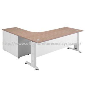 Office Table-Desk Model MR-TMC1818 (Left) furniture selangor kuala lumpur usj pj shah alam selayang balakong2