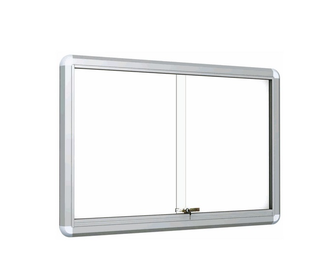 2ft x 3ft sliding glass door with white board magnetic office