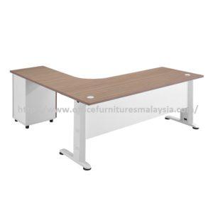 Office Table-Desk Model MR-TMD1515 (Left) furniture selangor kuala lumpur usj petaling jaya batu caves1