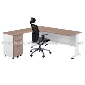 Office Table-Desk Model MR-TMF1515 (Left) furniture selangor kuala lumpur rawang sungai buloh shah alam