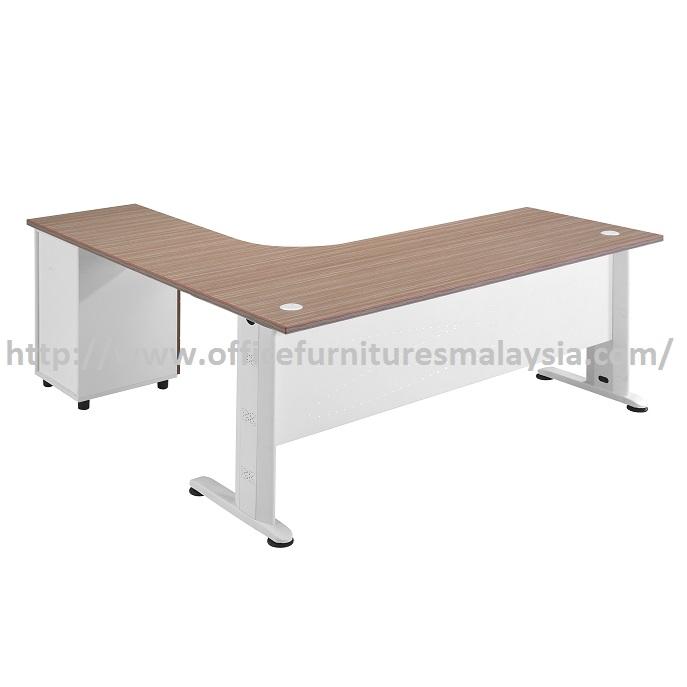 Glass Metal Desk
