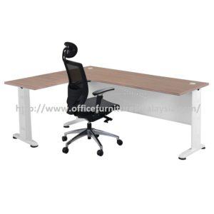 Office Table-Desk Model MR-TMI1515 (Left) furniture selangor kuala lumpur usj pj subang sunway damansara mont kiara