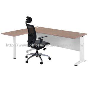 Office Table-Desk Model MR-TMP1515 (Left) furniture selangor kuala lumpur usj pj shah alam damansara mont kiara