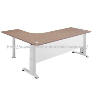 Office Table-Desk Model MR-TMP1515 (Left) furniture selangor kuala lumpur usj pj shah alam damansara mont kiara1