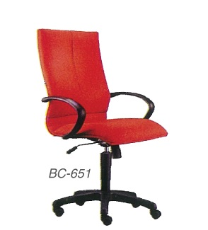 Office mediumback budget chair bc651 office furnitures for Affordable furniture kuala lumpur