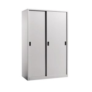 Steel Full Height Cupboard with Steel Sliding Doors office furniture selangor shah alam kaula lumpur malaysia