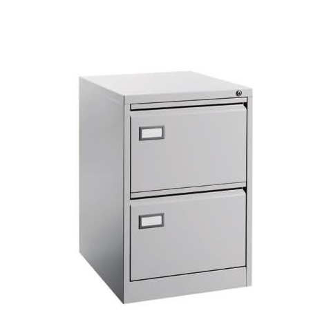 Steel Filing Cabinet With 2 Drawer Office Furnitures