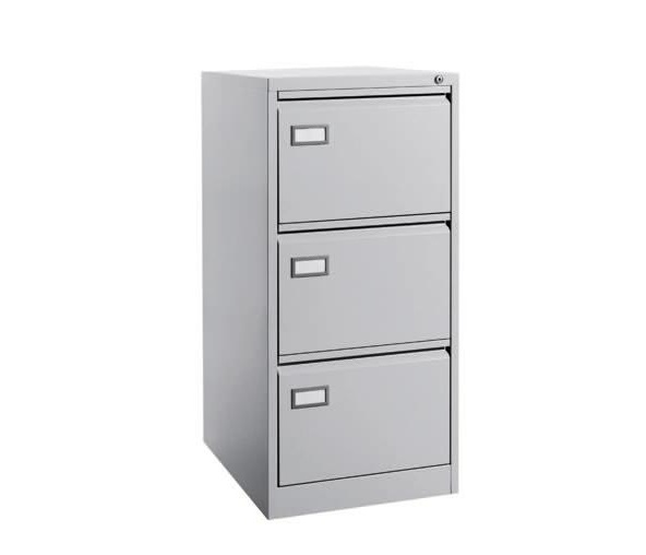 Steel Filing Cabinet With 3 Drawer