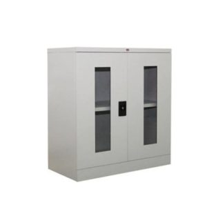 Steel Full Half Cupboard with Glass Swing Door office furniture selangor shah alam kaula lumpur malaysia1