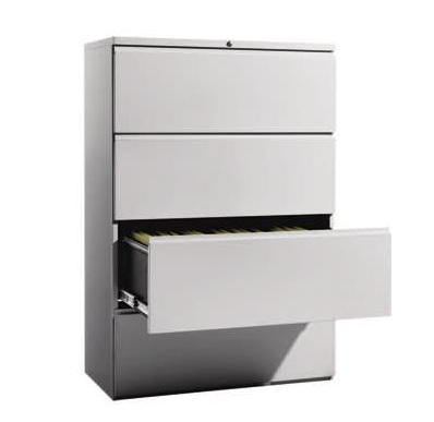 official photos cd00f cecc2 Steel Lateral Filing Cabinet 4 Drawer - Upgrade OF134M