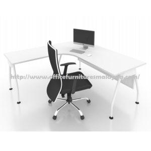 Office Executive Writing Table L Shape AL1215 furniture selangor shah alam damasara puchong ampang kuala lumpur1