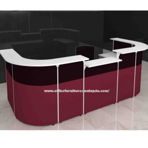 Office Reception Front Desk-Table OFMFO9111 furnitures malaysia selangor kuala lumpur12