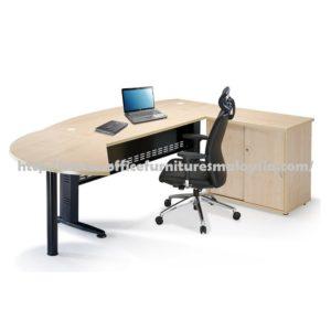 Office Executive Writing L Shape Table OFQMB180A selangor kuala lumpur klang valley1