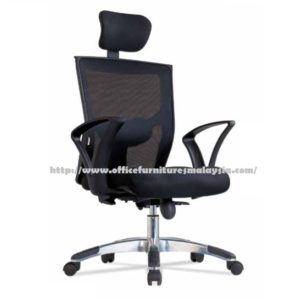 Office High Back Director Mesh Chair ZD513A sofa hotel salon office clinic colleage selangor kuala lumpur shah alam