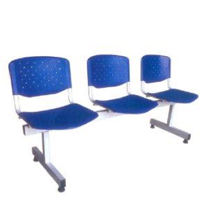 Plastic Visitor Link Chair ZD1131-3F hotel hostel clinic school college hospital link chair kuala lumpur selangor
