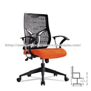 Office Modern LowBack Chair Seating ZD527Csofa hotel salon office clinic colleage selangor kuala lumpur shah alam