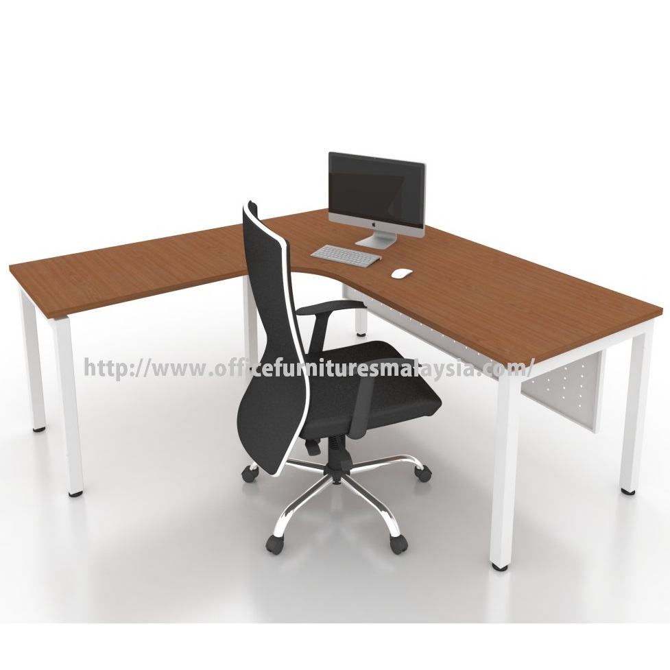 Modern Office Furniture Product ~ Office modern l shape table desk malaysia price damansara