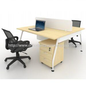 Modern Office Patition Team Workstation Table Set OFMQA1270 selangor kuala lumpur petaling jaya shah alam klang valley ampang1