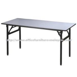 5ft Rectangular Folding Banquet Table cheap price furnitures malaysia kuala lumpur selangor shah alam petaling jaya klang valley mont kiara cheras1