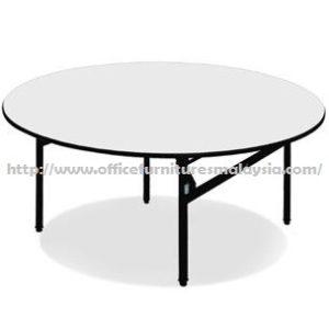 6ft Round Folding Banquet Table cheap price furnitures malaysia kuala lumpur selangor shah alam petaling jaya klang valley mont kiara cheras2