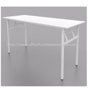 4ft Office White Banquet Folding Table cheap price furnitures malaysia kuala lumpur selangor shah alam petaling jaya klang valley mont kiara cheras1