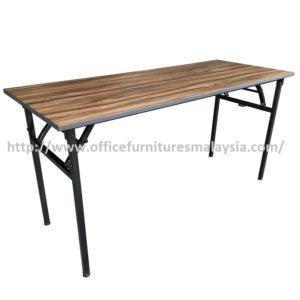 6ft Cappuccino Rectangular Banquet Folding Table office furnitures malaysia kuala lumpur shah alam klang valley petaling jaya1