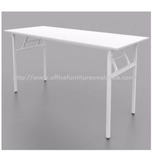 6ft Office White Banquet Folding Table cheap price furnitures malaysia kuala lumpur selangor shah alam petaling jaya klang valley mont kiara cheras
