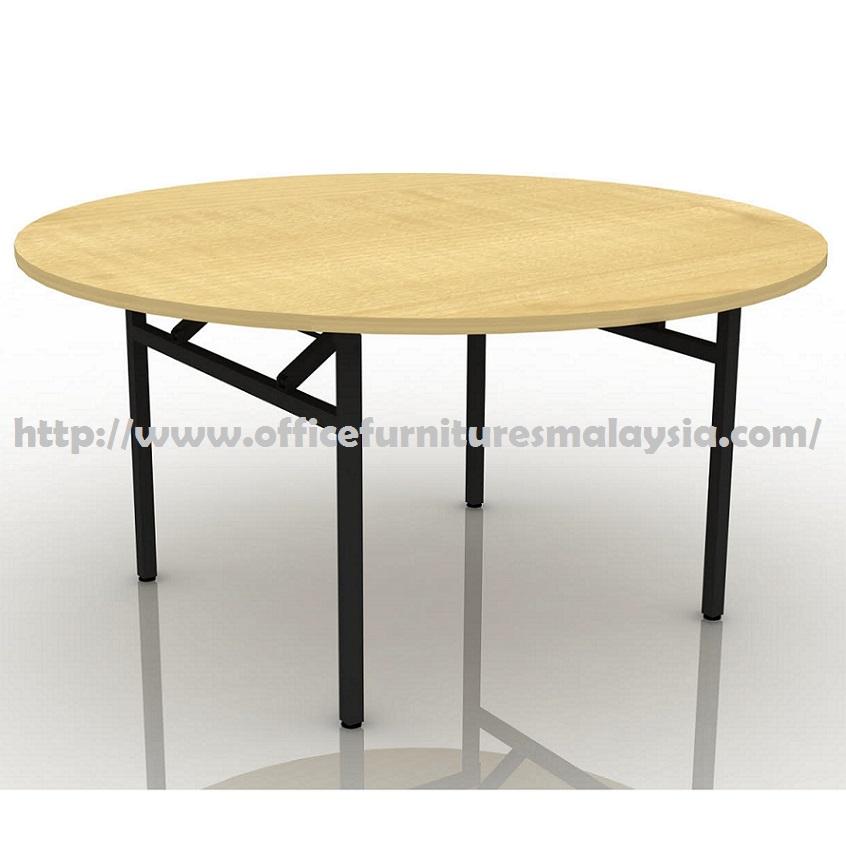 6ft round folding banquet table furniture online shop for Cheap modern furniture kuala lumpur