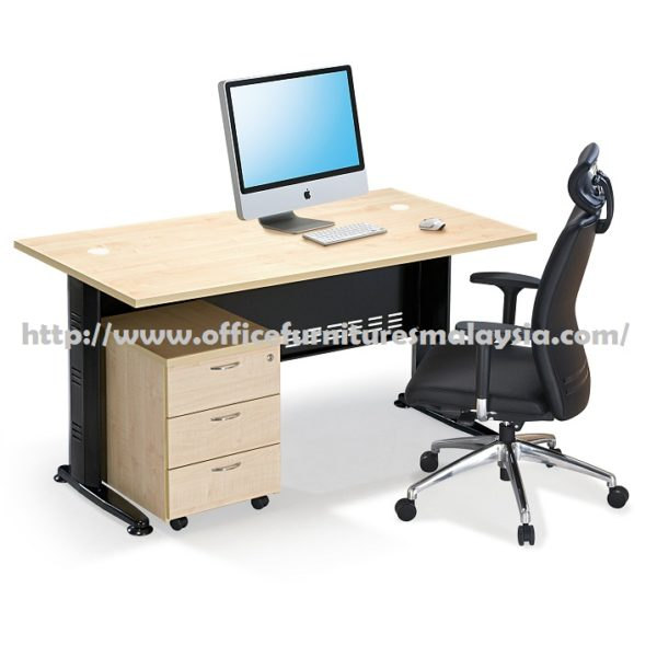 5ft office executive writing table set office furniture for Affordable furniture kuala lumpur