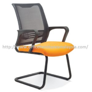Simple Executive Office Mesh Chair Visitor OFME2723S furniture malaysia selangor klang valley shah alam petaling jaya kuala lumpur
