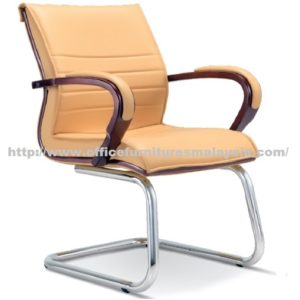 Conference Visitor Chair Wooden Line OFME2634S office furniture online shop malaysia selangor klang bangi setia alam USJ Mont Kiara shah alam