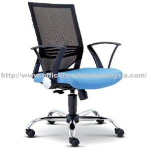 Executive Mesh Lowback Chair OFME2611H office furniture online shop malaysia selangor seri kembangan rawang ampang